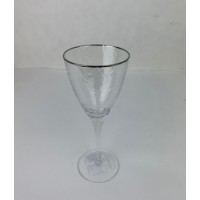 222-123 Бокал д/вина серебро 23см